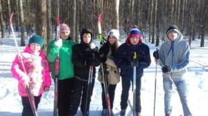 лыжня России 2016 с воспитанниками